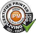 IPM Certified Printer ISO 12647